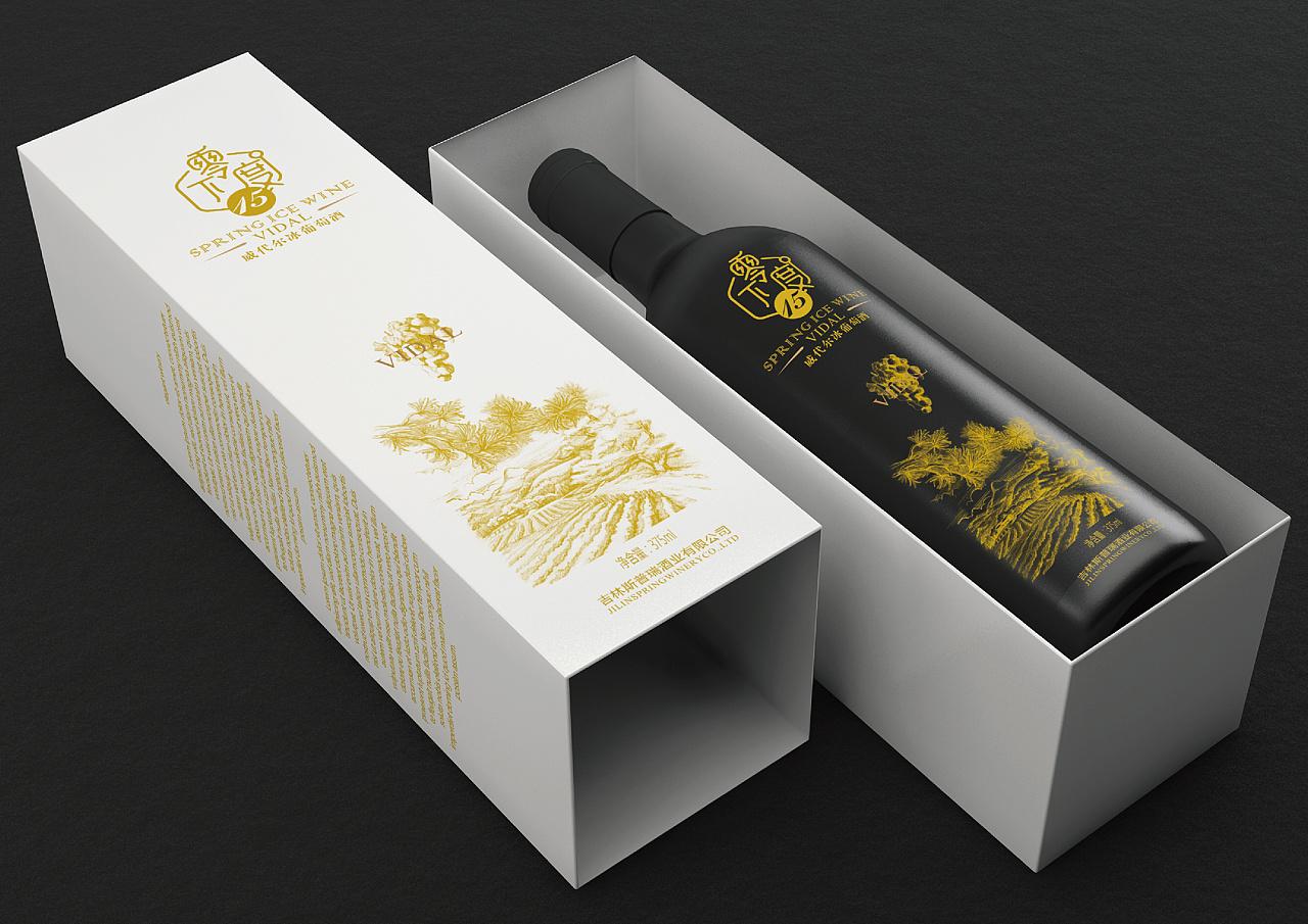 葡萄酒包装设计图片