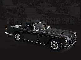 超写实——Ferrari Classic Car