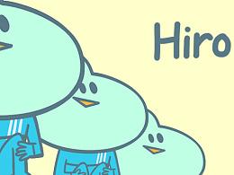表情包设计-外星人Hiro