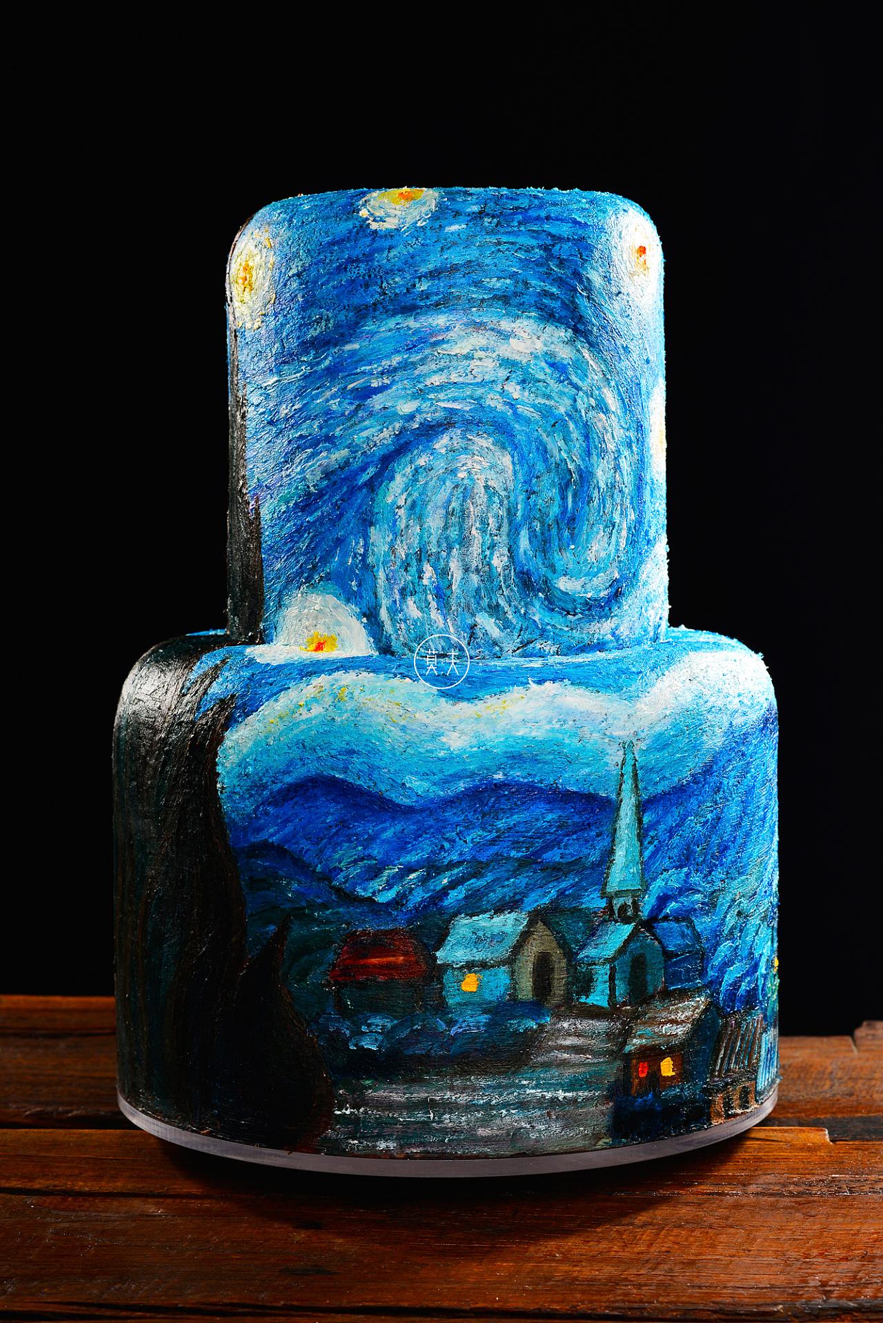 蛋糕店绘画-在蛋糕上画画吧 二