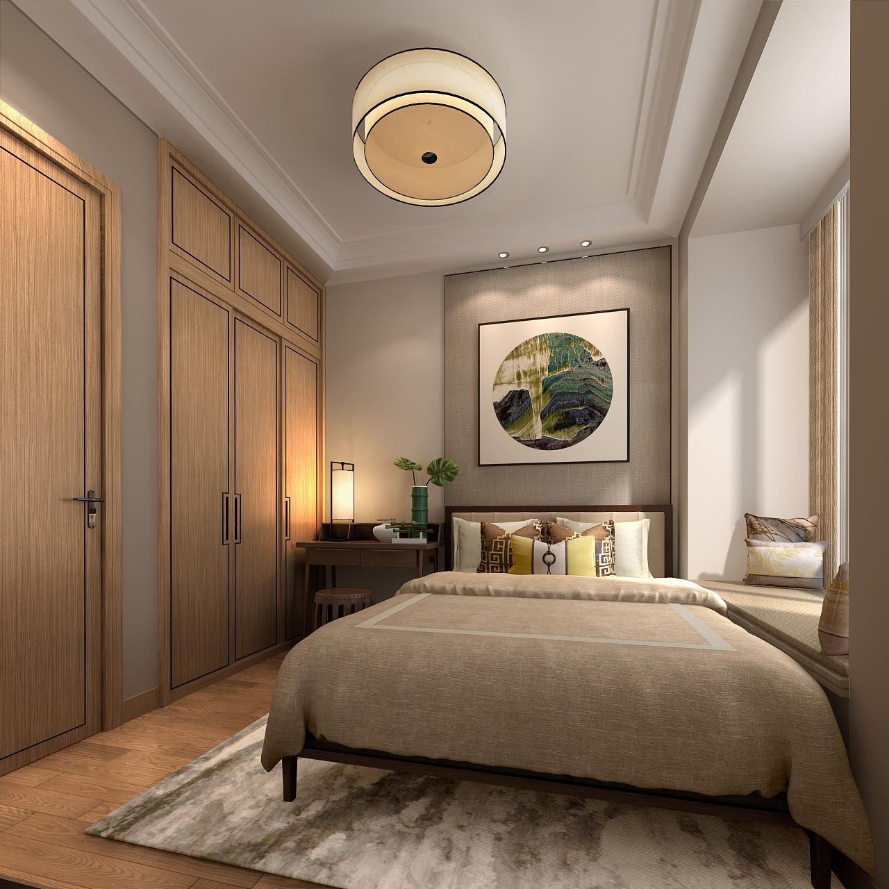 30m,56m,60m住宅三维空间概念设计