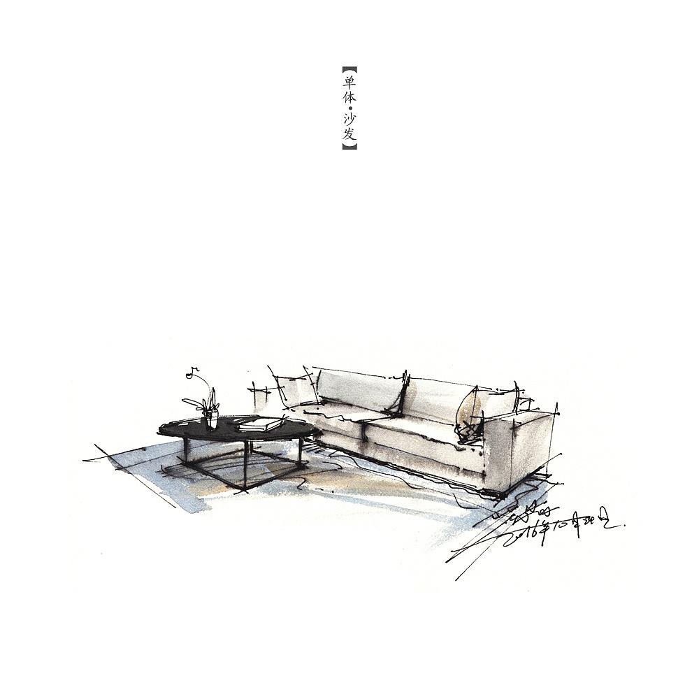 家具单体小品|空间|室内设计|三水00 - 原创作品