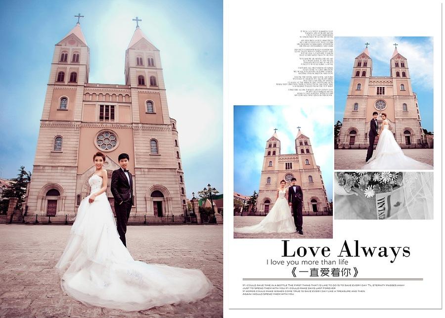 婚纱照相册排版内容|婚纱照相册排版版面设计