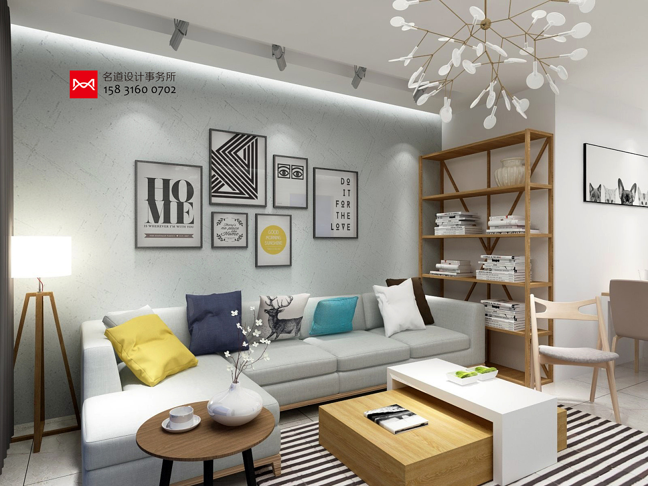 最新室内设计名言三室两厅两卫110平米廊坊文安御龙案例设计师装修设计家园图片