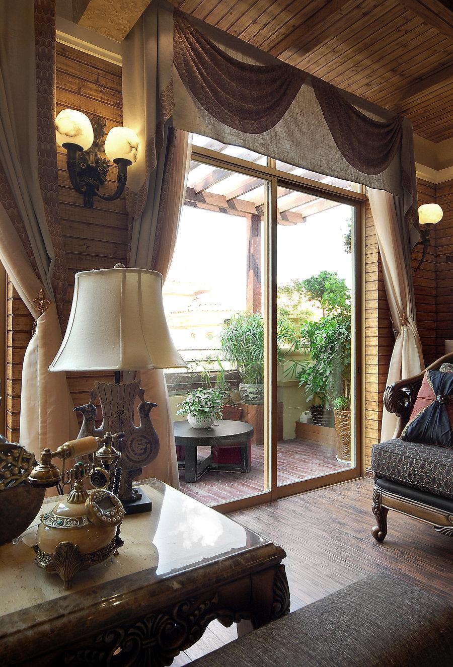 连城保利公园2010别墅装修设计山海|室内设计贵阳案例别墅图片