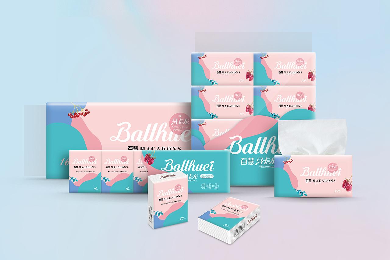 package design/百慧-纸巾包装设计图片