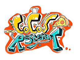 COCOS披萨店墙画设计