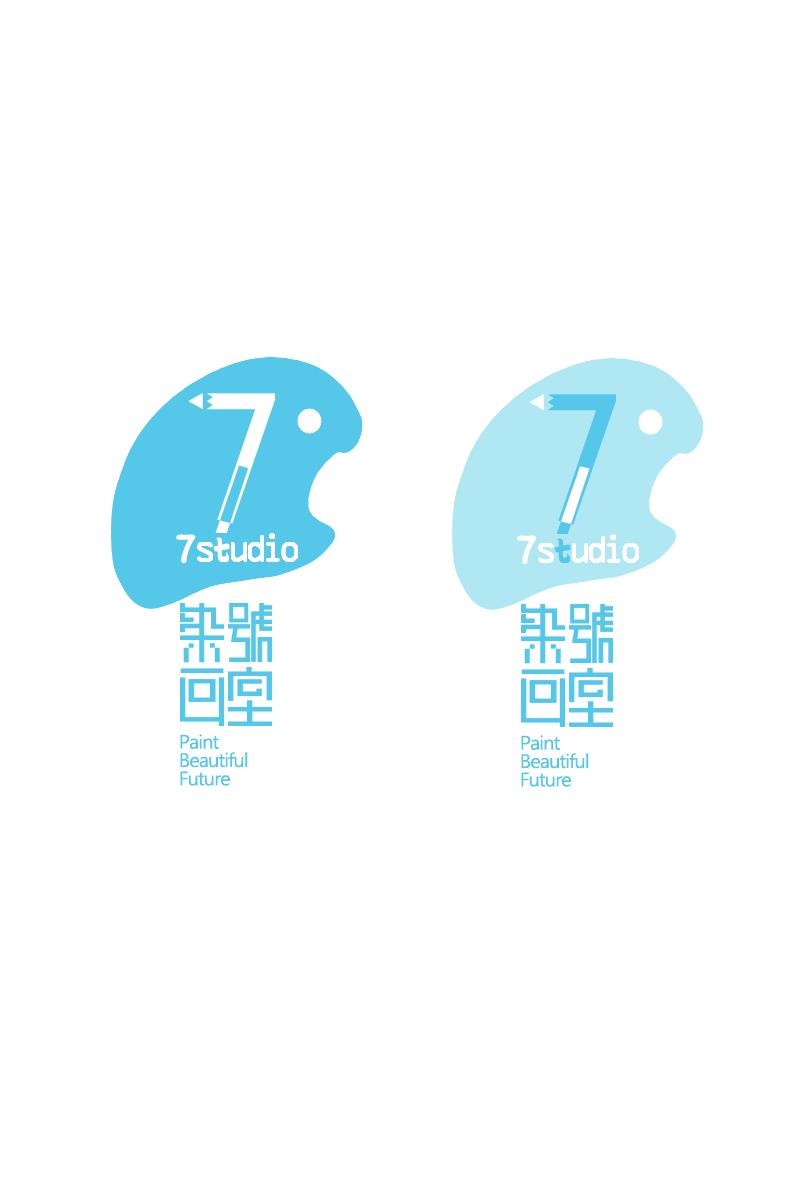 7号画室|平面|标志|岑也sendesu - 原创作品 - 站酷图片