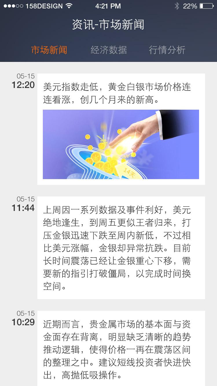 查看《贵金属交易app设计练习》原图,原图尺寸:750x1334