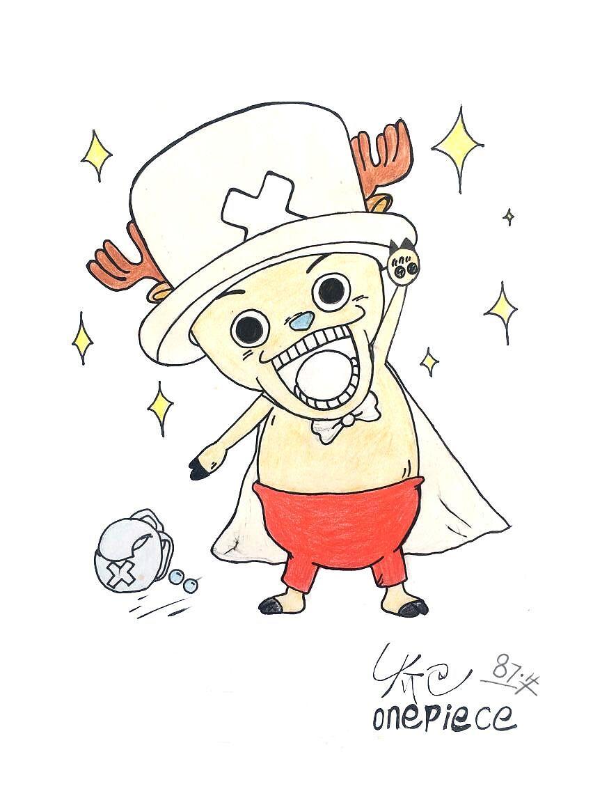 海贼王 手绘