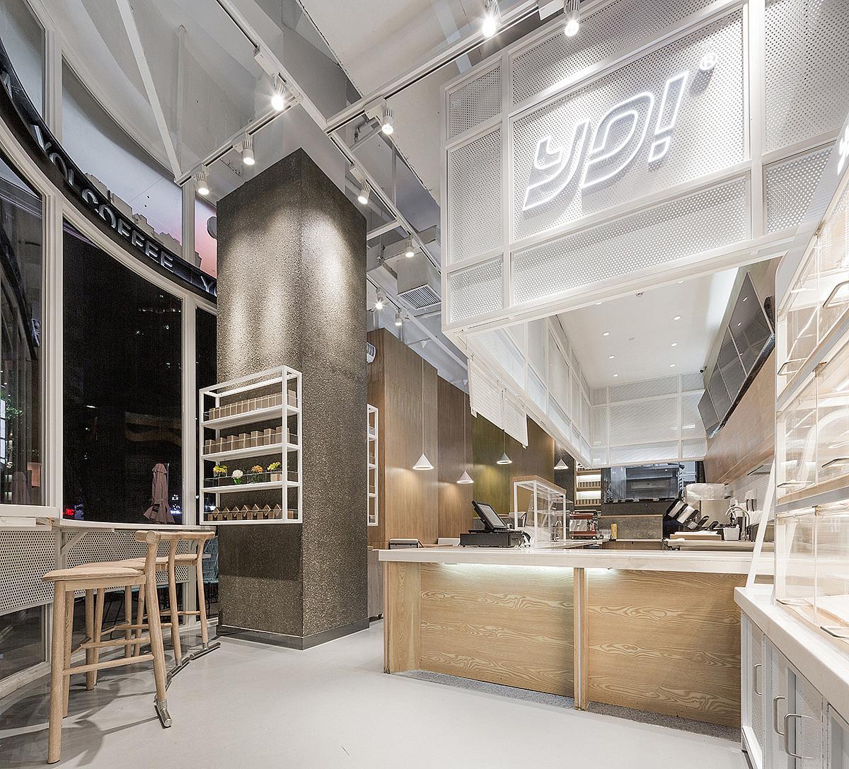 饮品/烘培品牌 · 餐饮空间设计 YO!Tea有茶 奶茶店设计