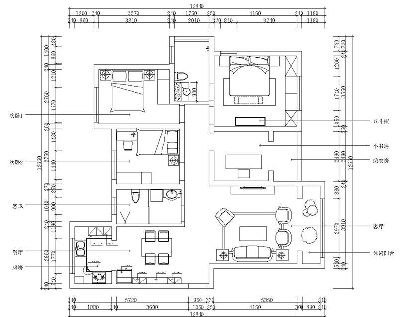 林风格135平四室两厅现代简约机械装修半岛欣案例v风格申请书图片