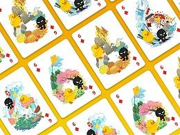 快乐四季——B.Duck小黄鸭 x ZCOOL站酷联名扑克
