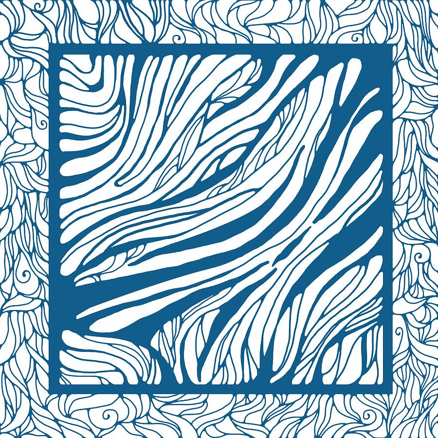 苏丝丝巾纹样设计|图形/图案|平面|欧阳子璇