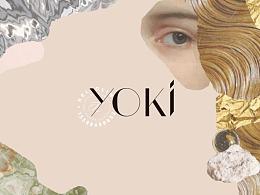 Hellolink   YOKI护肤化妆品美妆轻奢品牌产品包装设计