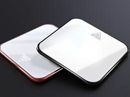 铝合金无线充电器
