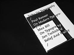 书 | Talks On Typography