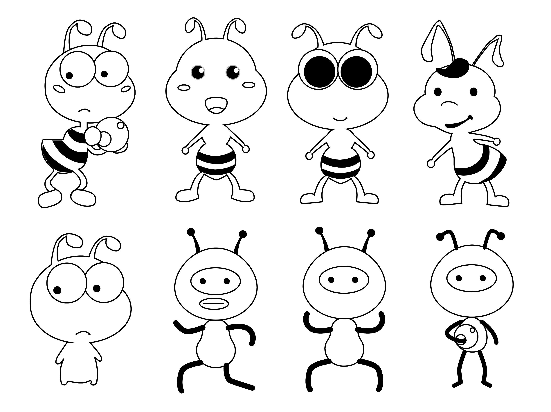 卡通形象设计图片