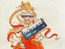 中國神獸搖滾樂隊