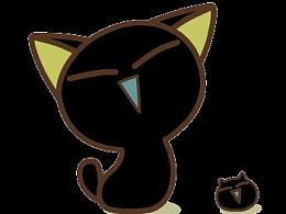 小黑猫动画