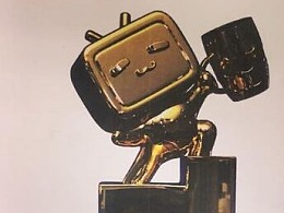 bilibili小电视奖杯设计