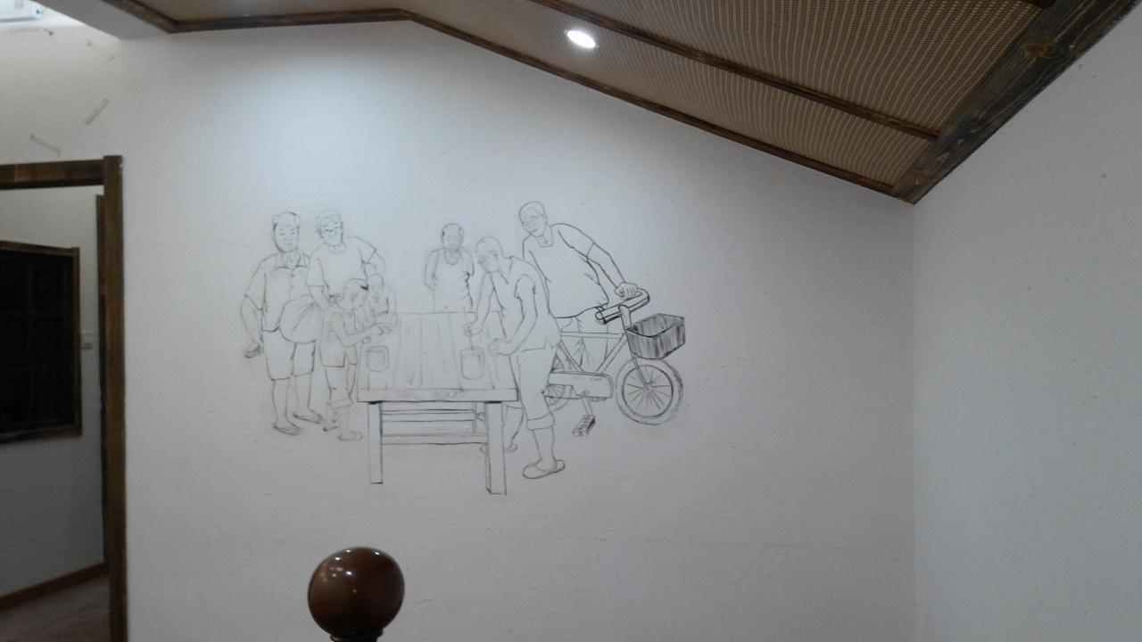 青岛绘美时尚装饰工程有限公司墙绘案例分享13