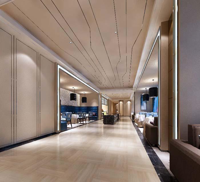 德阳广汉平安国际商务案例装修设计家装|德阳广汉酒店酒店设计师王众图片