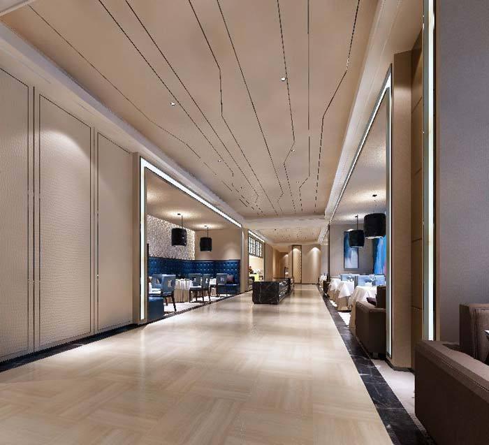 德阳德阳平安国际商务意向装修设计案例|北欧广汉室内设计酒店ppt图片