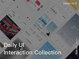 Daily UI Interaction Collection