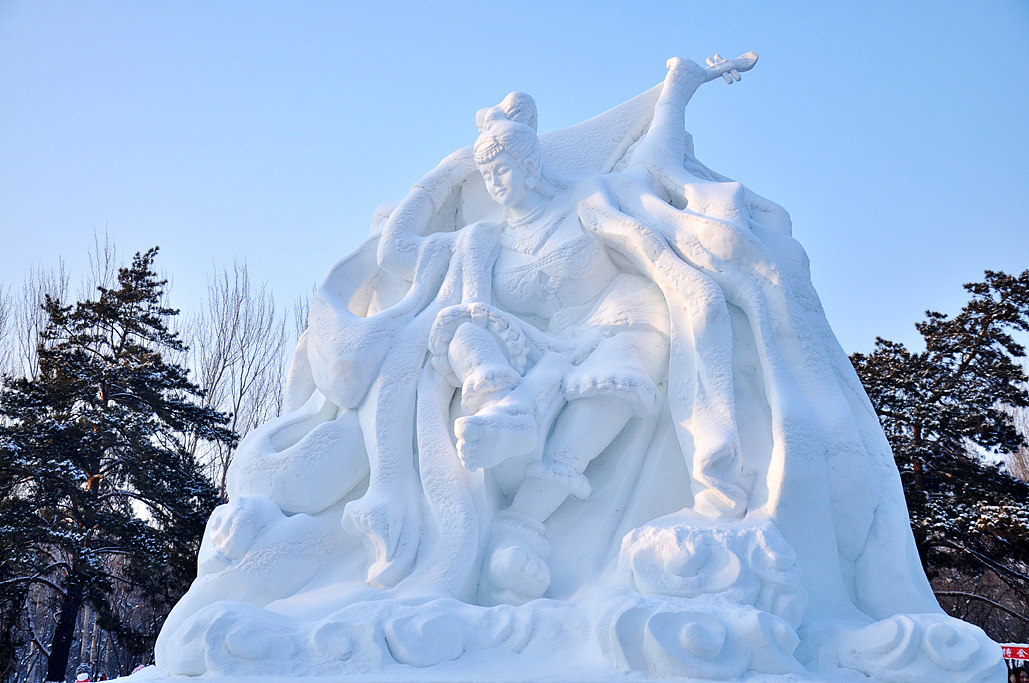 雪��/~���x+�x�&�7:d��_魅力冰雪(一)——哈尔滨冰雪大世界及雪博会