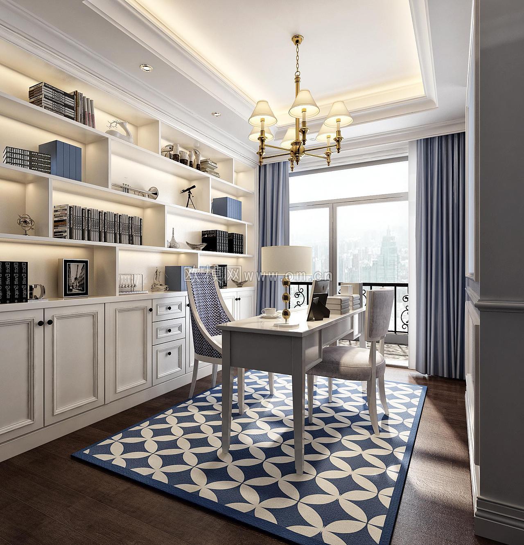 欧式风格效果图 空间 室内设计 欧模网杏子 - 原创图片