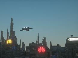 科幻CG场景