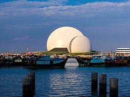 珠海歌剧院白天