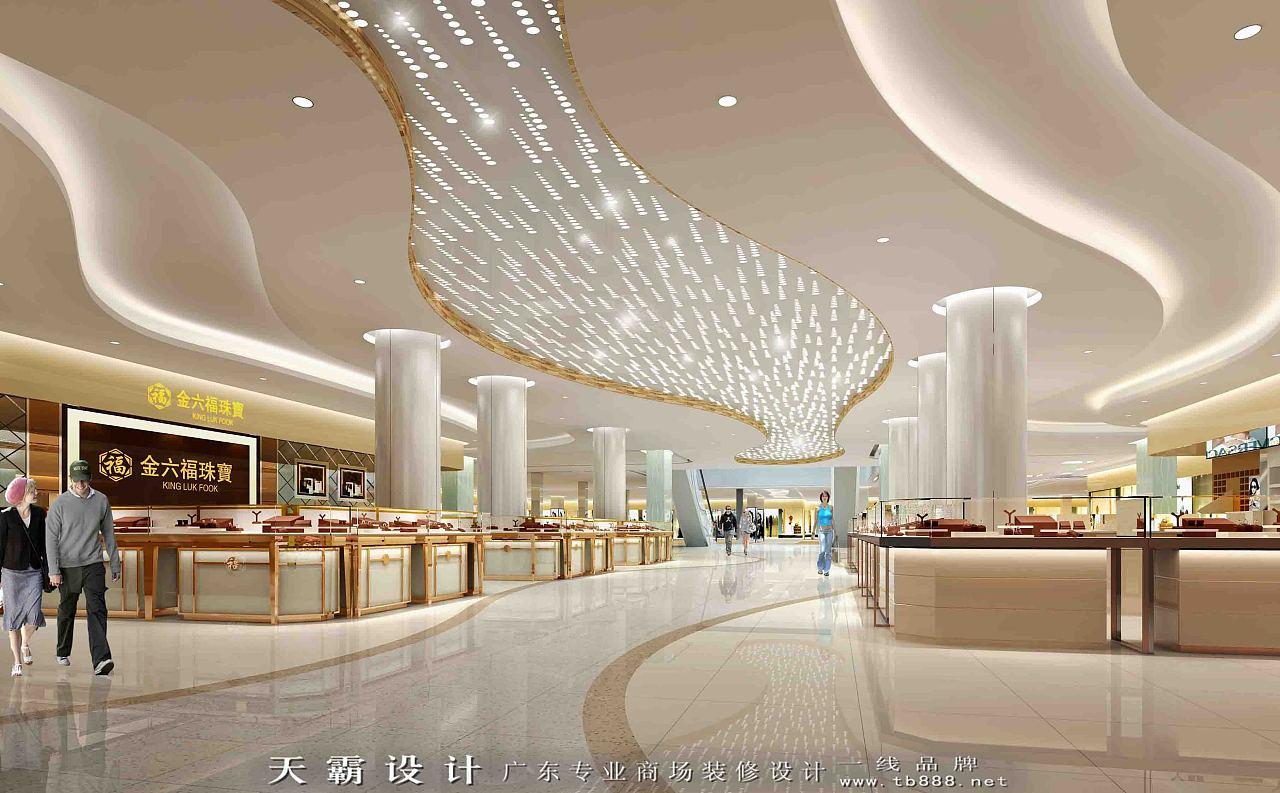 可持续理念下的商场设计效果图分享