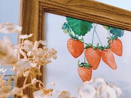简单画草莓