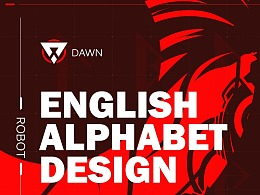 寒假作业-ENGLISH ALPHABET DESIGN