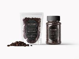 云南品牌咖啡logo设计品牌包装设计