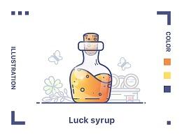运气药水插画教程