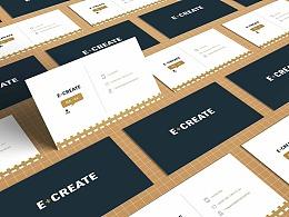 邱志鹏 E+CREATE品牌视觉形象设计