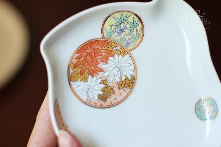 日本有田烧深川制手绘陶瓷茶具