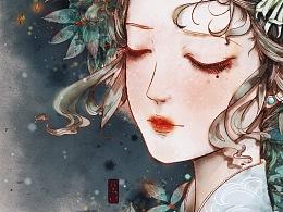 《旧影》-清菊
