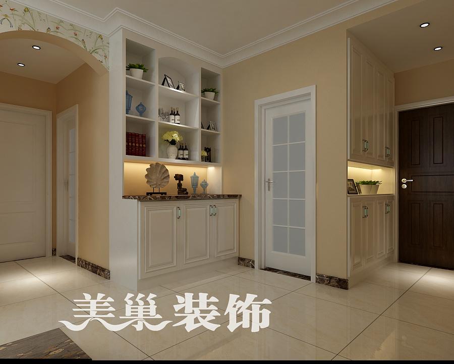 和昌悦澜89平两室两厅田园风格装修效果图