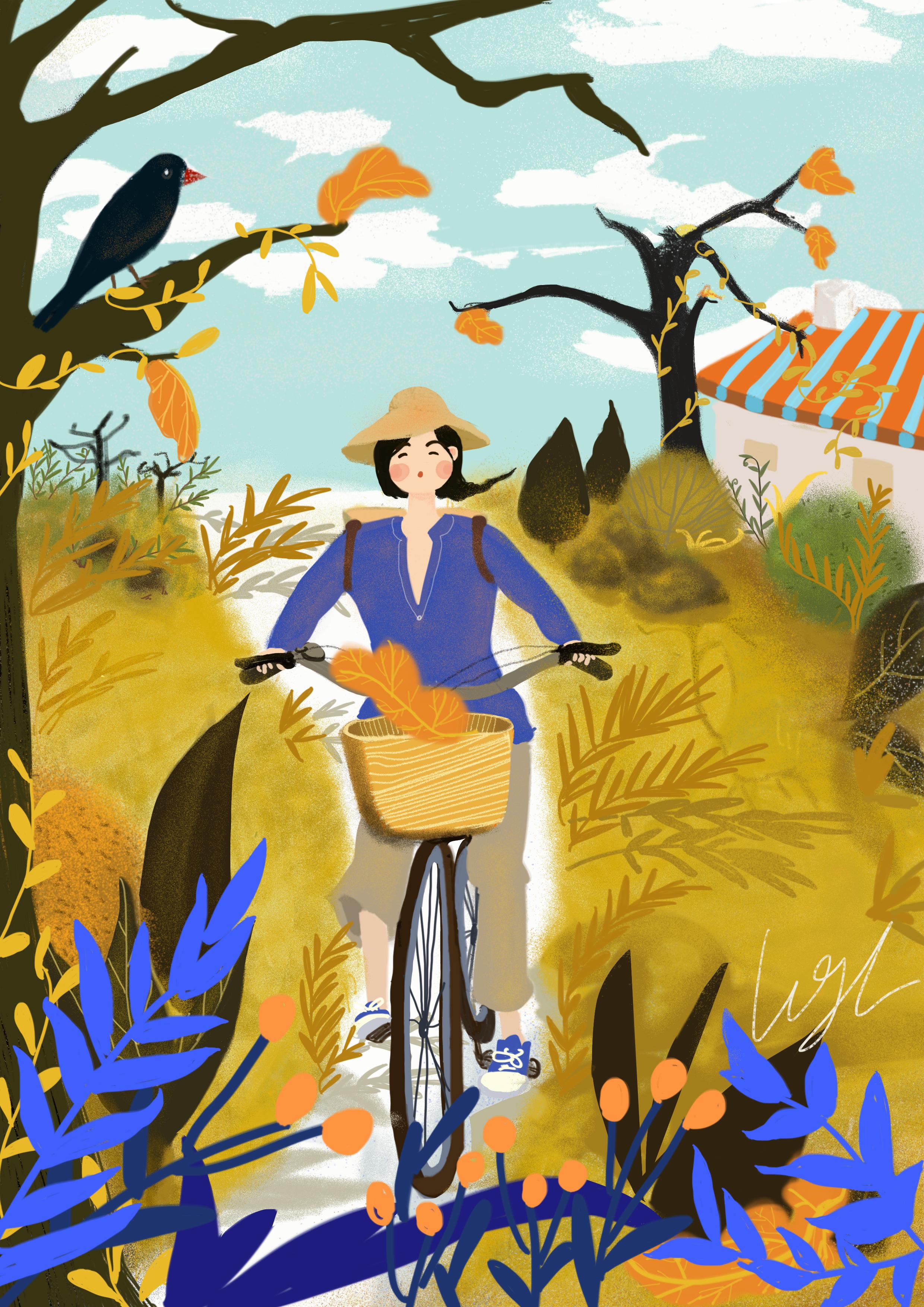 浪漫的事_一直觉得在树荫下骑车是一件很浪漫的事儿