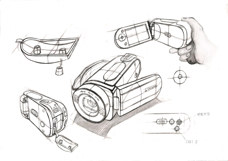产品手绘|工业/产品|电子产品|zhangyanran - 原创