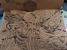 意识流&自动绘画(包含作图过程)