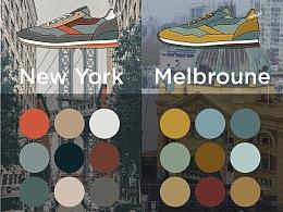 WALSH CITY系列配色设计
