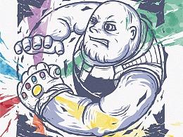 复仇者联盟3:无限战争,灭霸