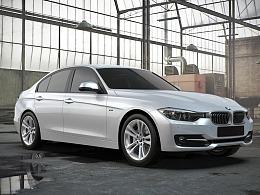 BMW宝马车渲染