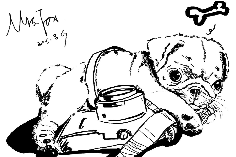 动漫 简笔画 卡通 漫画 手绘 头像 线稿 1500_999