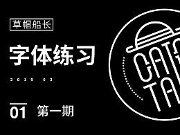 2019字体练习1期